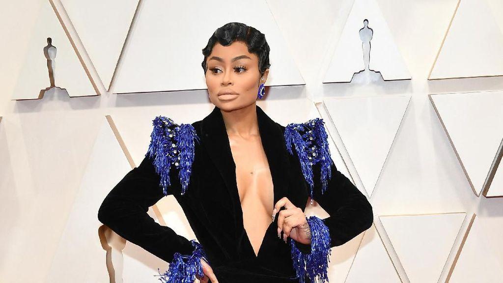Blac Chyna Eksis di Red Carpet Oscar 2020, Netizen Nyinyir
