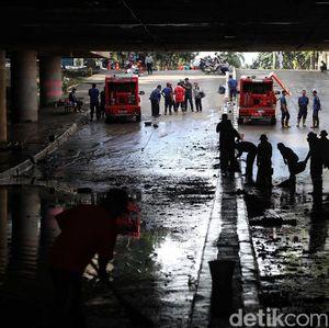 Pak Basuki, Underpass Kemayoran Banjir Lagi Nih