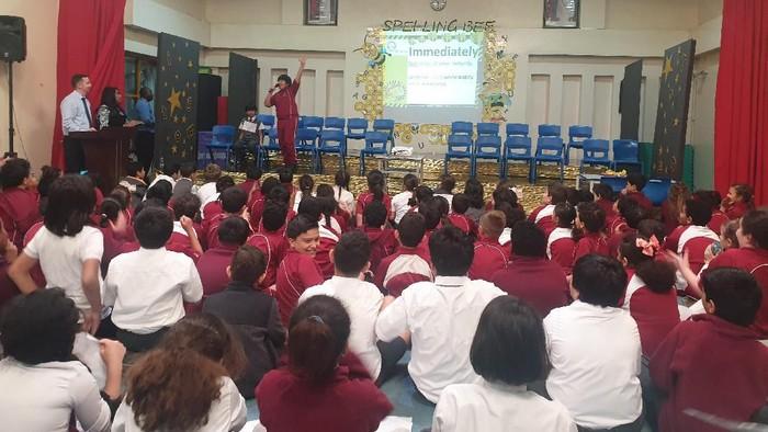 Enam Murid SD Indonesia Juara Spelling Bee