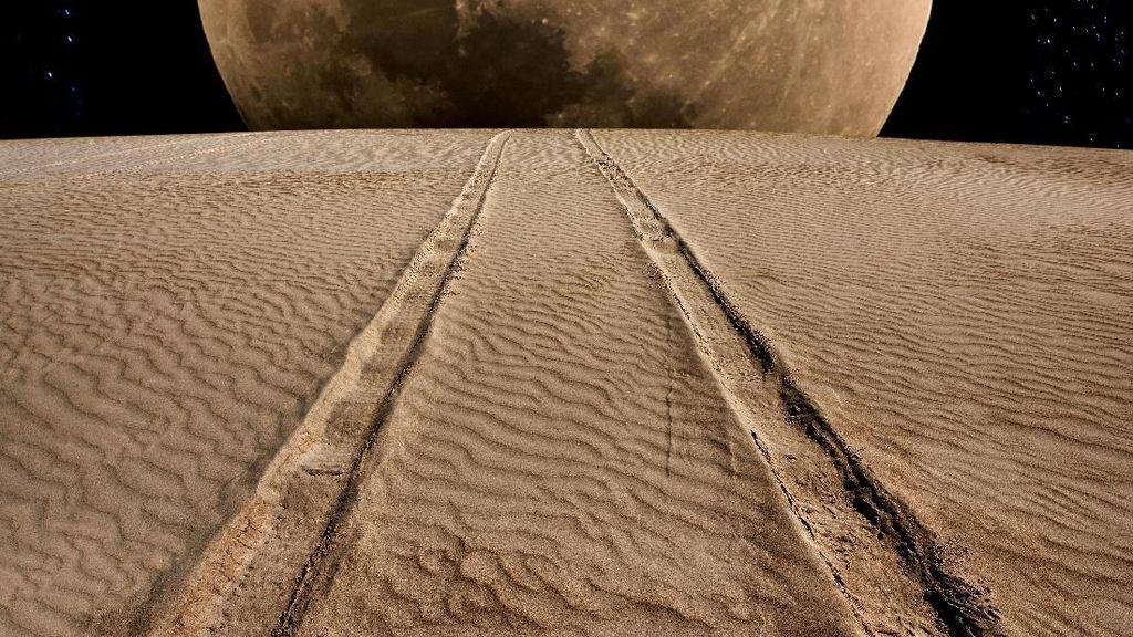NASA Cari Mobil untuk Dipakai di Bulan
