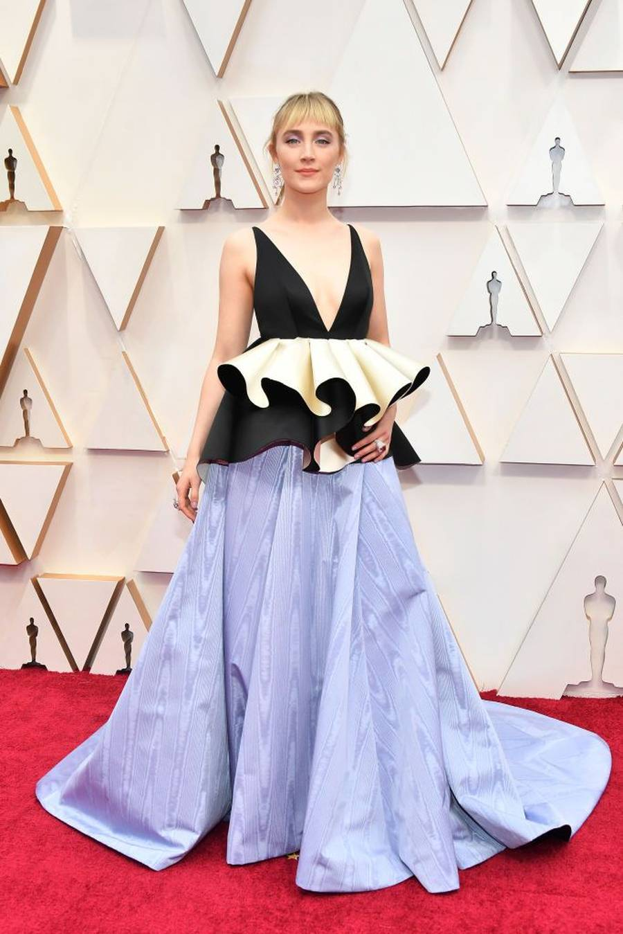 HOLLYWOOD, CALIFORNIA - FEBRUARY 09: Saoirse Ronan attends the 92nd Annual Academy Awards at Hollywood and Highland on February 09, 2020 in Hollywood, California. (Photo by Amy Sussman/Getty Images)