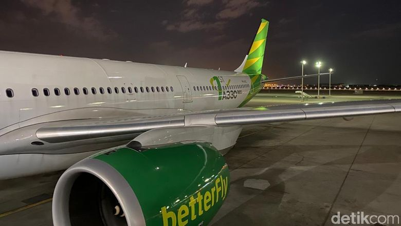 Maskapai penerbangan Citilink Indonesia membuka rute baru dari Bandara Internasional Juanda, Surabaya menuju Bandara Internasional King Abdul Aziz, Jeddah