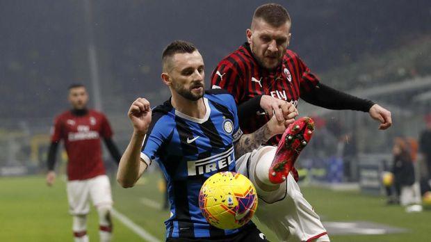 AC Milan baru menelan kekalahan dari Inter di Serie A.