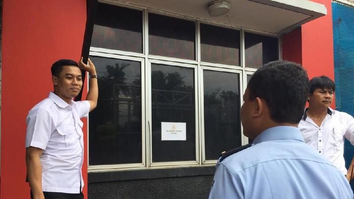 Polisi Olah TKP di Rutan Cipinang