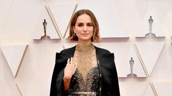 Natalie Portman Ajak Suami di Oscar 2020