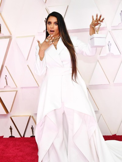 HOLLYWOOD, CALIFORNIA - FEBRUARY 09: Lilly Singh attends the 92nd Annual Academy Awards at Hollywood and Highland on February 09, 2020 in Hollywood, California. (Photo by Amy Sussman/Getty Images)