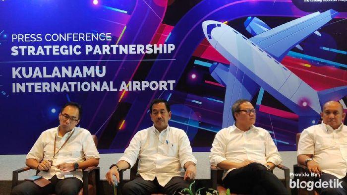 Dirut AP II  Muhammad Awaluddin bahas Bandara Kualanamu