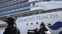 71 Ribu Orang Terinfeksi, 454 Orang Positif Corona di Kapal Pesiar Jepang