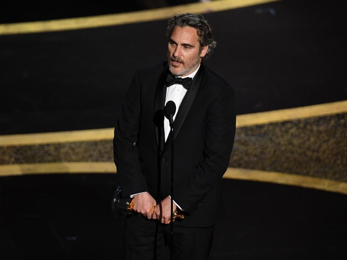 LONDON, ENGLAND - FEBRUARY 02: Joaquin Phoenix attends the EE British Academy Film Awards 2020 at Royal Albert Hall on February 02, 2020 in London, England. (Photo by Gareth Cattermole/Getty Images)