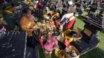 Potret Ritual Adat Mengenang Perjuangan I Gusti Ngurah Rai
