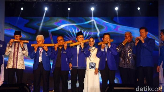 Kongres PAN yang digelar Kendari, Sulawesi Tenggara (Sultra), resmi dibuka. Berikut foto-foto suasananya.