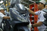 Warna baru Honda PCX 150.