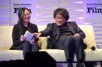 Sosok Sharon Choi, Penerjemah Tim Film Parasite yang Mencuri Atensi