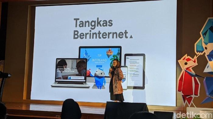 Google Luncurkan Program Tangkas Berinternet untuk literasi digital anak, orangtua dan guru.