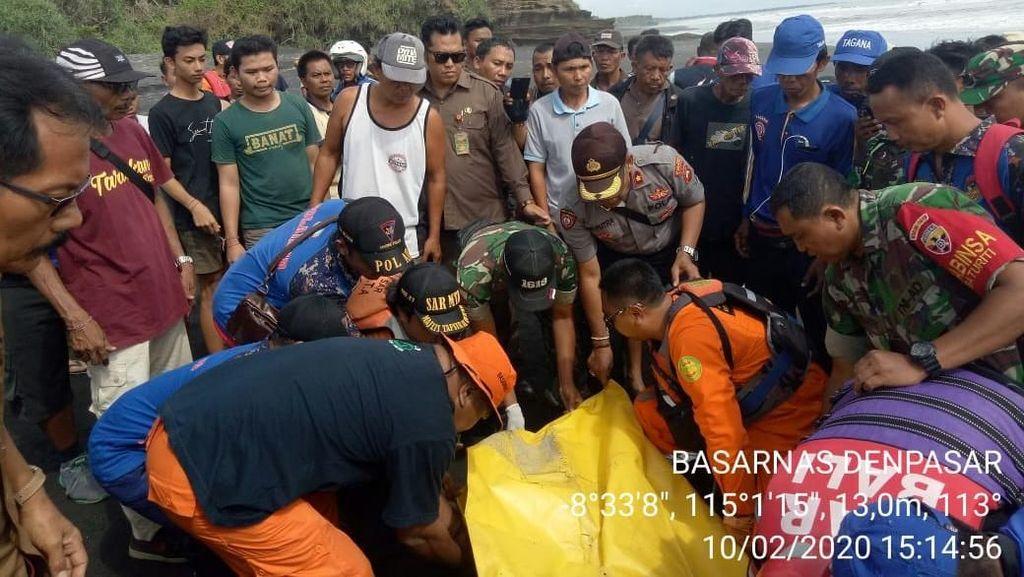 Anggota TNI yang Terseret Arus Sungai Ditemukan di Pantai Tabanan