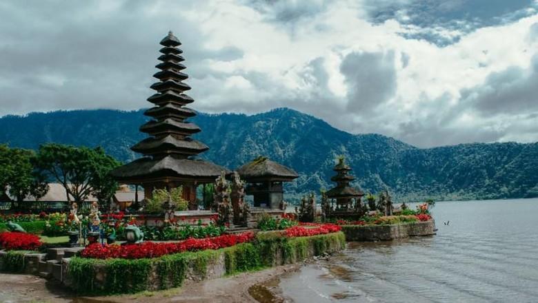 Pura Ulun Danu Bratan di Bali.
