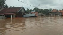 Banjir di 4 Kecamatan Musi Rawas, Ribuan Keluarga Terdampak