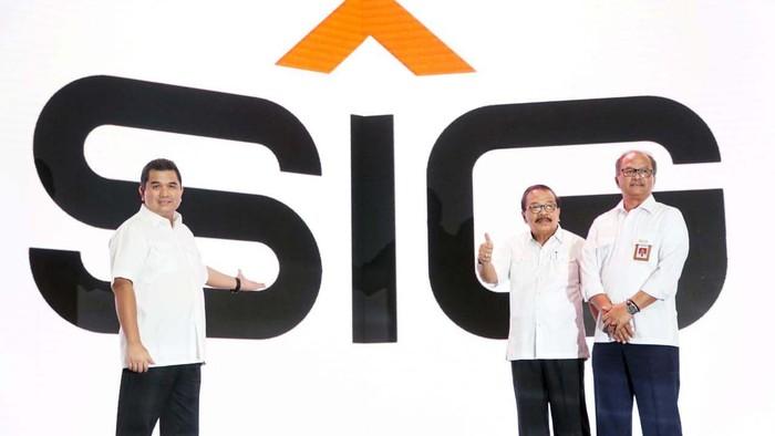 PT Semen Indonesia (Persero) Tbk hari ini memperkenalkan logo baru. Pengantian logo merupakan bagian dari transformasi perseroan membangun kehidupan.