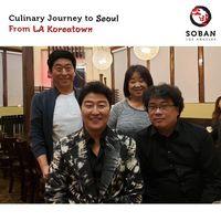 Momen Manis Pemain dan Kru 'Parasite' Rayakan Kemenangan di Resto Korea