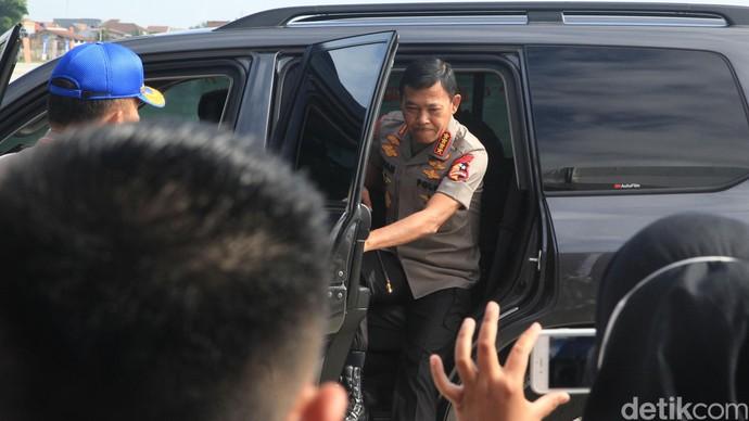 Kapolri Jenderal Pol Idham Azis meresmikan Indonesia Safety Driving Center (ISDC) di Tangerang Selatan, Banten, Selasa (11/2/2020). ISDC yang berlokasi di Pusat Pendidikan Lalu-lintas Polri (Pusdiklantas Polri) tersebut menjadi pusat pembelajaran keamanan berkendara seperti para instruktur profesional, hingga patroli pengawalan maupun ajudan Polri.