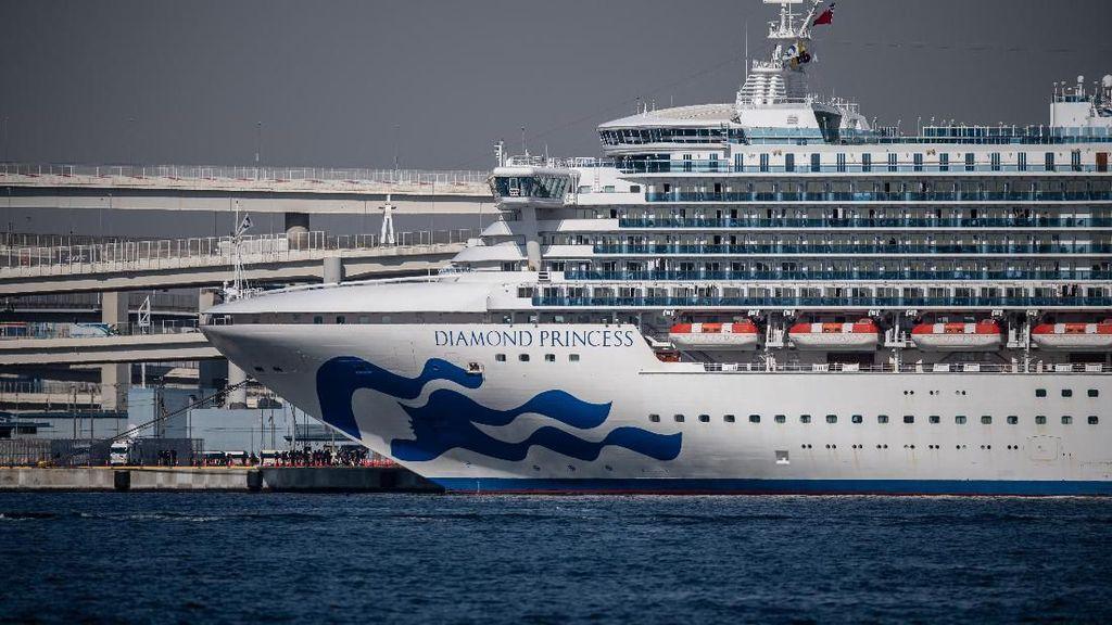 Bertambah 1 Orang, Total Ada 4 WNI di Kapal Pesiar Jepang Positif Corona
