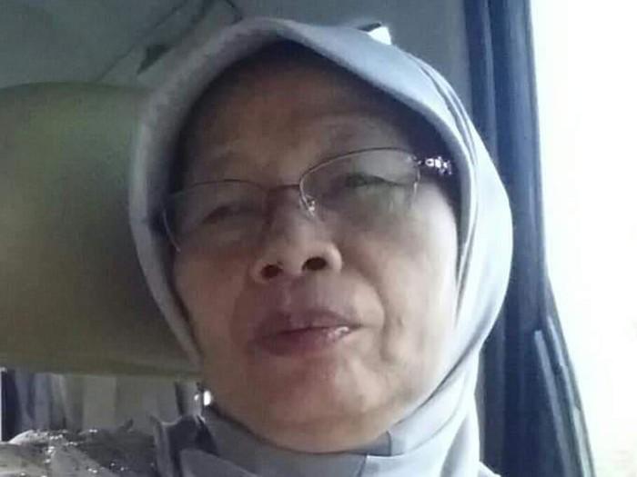 Bu Tumini, pemilik mie ayam Tumini Yogyakarta, Selasa (11/2/2020).