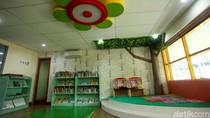 Ada Ruang Anak yang Nyaman di Perpustakaan Kemendikbud Lho