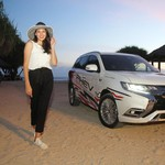 Nadine Chandrawinata Penyuka Traveling yang Doyan Offroad