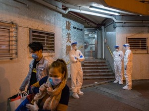 Viral Video Wanita di Wuhan Meludahi Pintu agar Orang Terinfeksi Corona