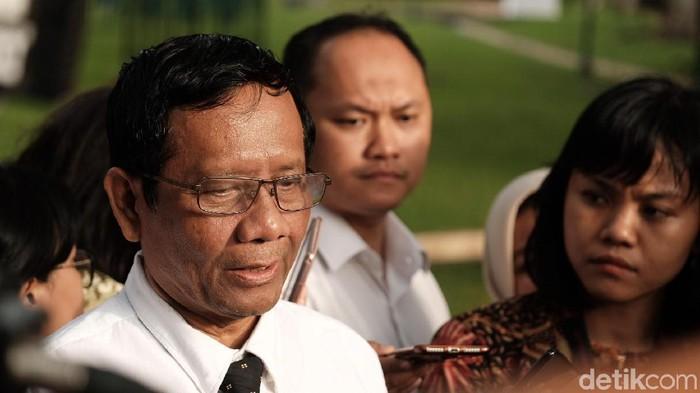 Menko Polhukam Mahfud Md (Foto: Andhika Prasetya/detikcom)