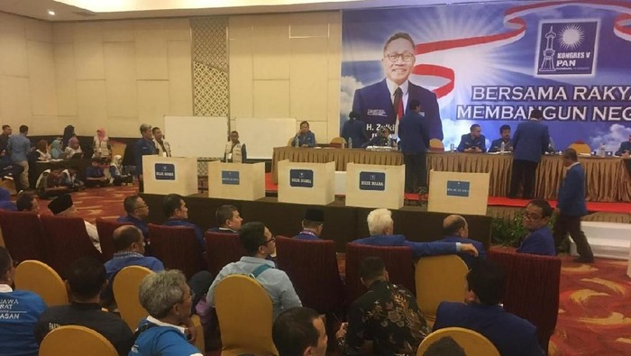 Foto 5 bilik untuk pemilihan Ketum yang telah disiapkan di Kongres PAN