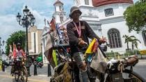 Keren! Dua Pesepeda Difabel Indonesia Pecahkan Rekor