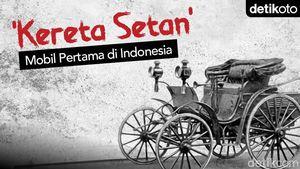 Kereta Setan, Mobil Pertama di Indonesia