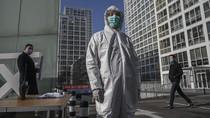 China Krisis Masker dan Pakaian Pelindung Anti-virus