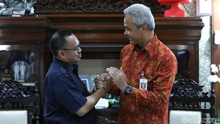 Pertemuan Ganjar-Sudirman Said di Semarang, 11/2/2020