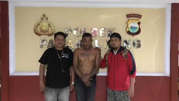 Pemalak penjual nasi kuning di Makassar ditangkap (dok. Istimewa)