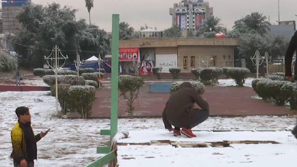 Hujan Salju Pertama di Irak
