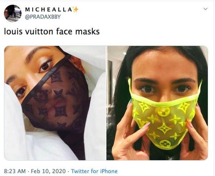 masker Louis Vuitton