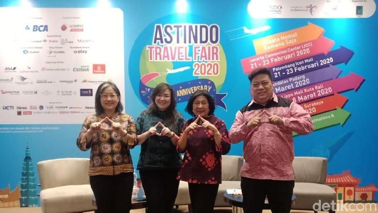 Konferensi pers Astindo Fair 2020