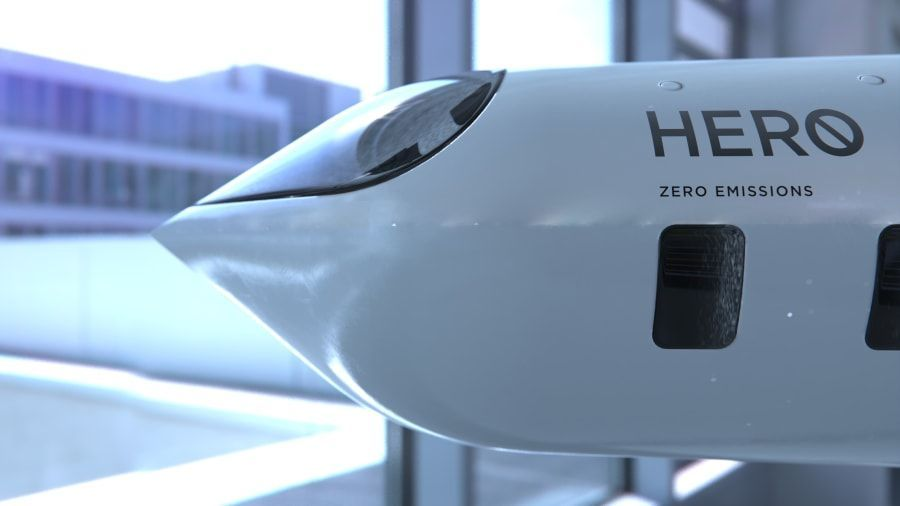 Pesawat Konsep Her0 Zero