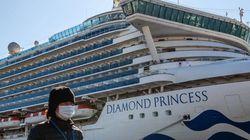 542 Orang Positif Corona di Kapal Diamond Princess, Penumpang Diturunkan