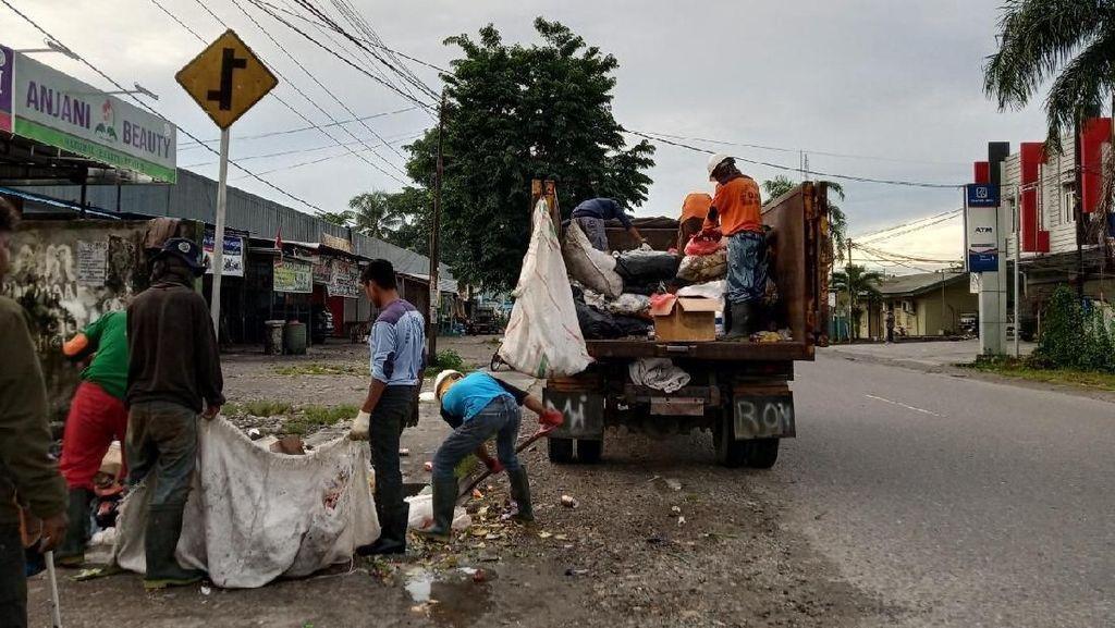 Petugas Kebersihan Mimika Papua Berhenti Mogok, Sampah Mulai Diangkut
