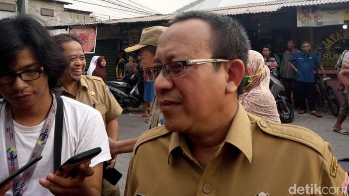 Kepala Suku Dinas Cipta Karya Tata Ruang dan Pertanahan (Kasudin Citata) Jakarta Timur Widodo