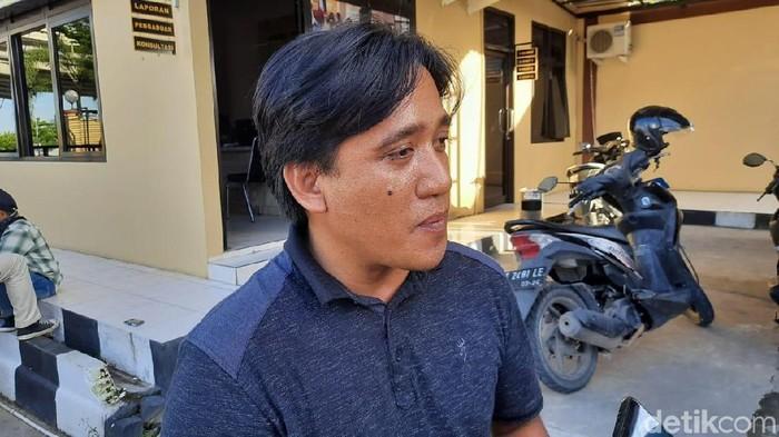 Hendra, kerabat napi di Samarinda yang diduga tewas akibat jadi korban kekerasan (Suriyatman/detikcom)