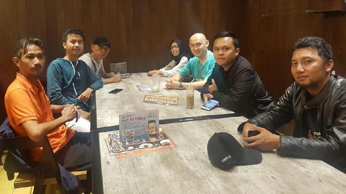 Pertemuan dengan Komunitas Rental Motor Indonesia (RMI) Bandung.