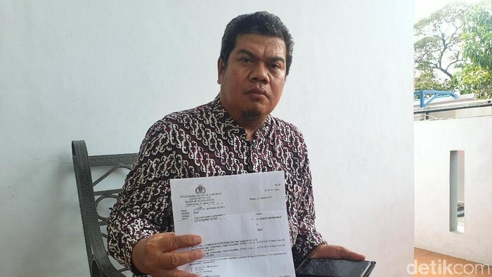 Koordinator jemaat korban penipuan, Suroto Bin Muharjo (Foto: Isal Mawardi/detikcom)
