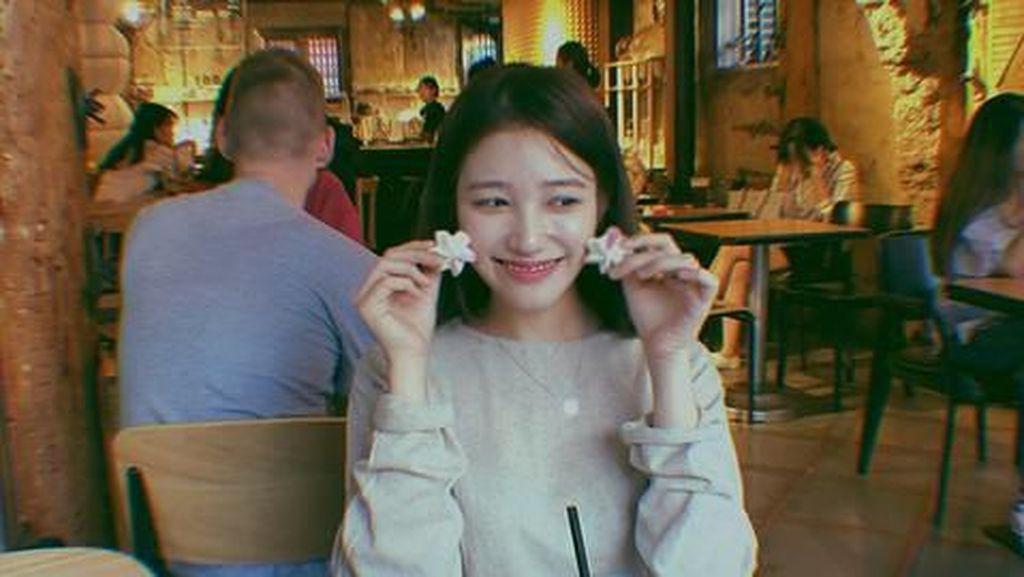 Mengenang Momen Seru Kulineran Mendiang Go Soo Jung Pemain Goblin