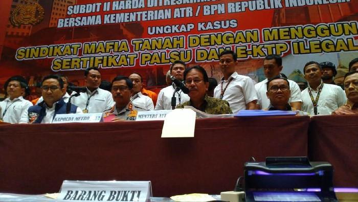 Kapolda Metro Jaya-Menteri ATR
