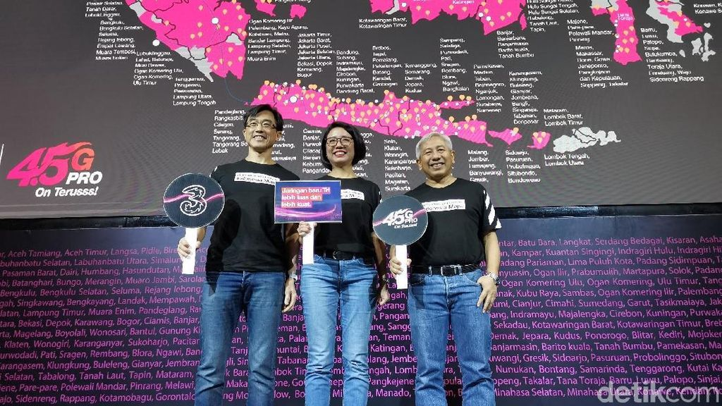 Tri Indonesia Sasar Anak Muda, Ingin Tumbuh di Atas 10%