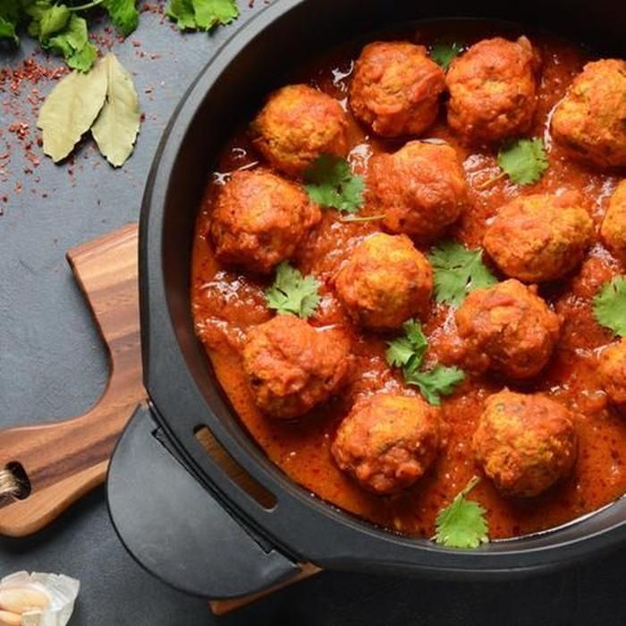 Bola Daging saus Tomat ala Italia